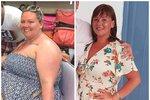 Neuvěřitelná proměna! 34 kilo je pryč, pomohla jí třífázová dieta z Facebooku