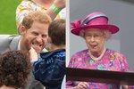 Tyhle fotky královské rodiny vás pobaví!