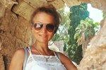 Yvetta Blanarovičová na dovolené ve Španělsku
