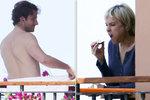 Reneé Zellweger: Nahaté zásnuby na balkóně