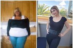 Ještě před rokem a půl Vanessa vážila sto šedesát kilo.