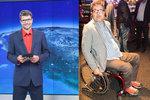 Ochrnutý moderátor Michal Jančařík: Život na vozíku ho mění k nepoznání!