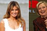 Kontrast prvních dam: Trumpová dokázala něco, co se nepovedlo ani Clintonové