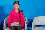 """Greta se rozplakala: """"Ukradli jste mé sny a dětství."""" Šílený projev hysterky, zní z Česka"""