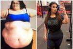 Alysha začala hubnout na váze sto sedmdesát kilogramů.