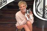 Sharon Stone se svými pejsky