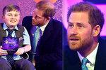Princ Harry málem v slzách! Jaké tajemství o těhotenství Meghan prozradil?
