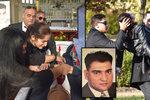 Pohřeb romského bosse: Lidé se vrhali do rakve a omdlévali! Zasypali ho medvídky