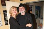 Herečka Jana Paulová s manželem Milanem Svobodou