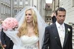 Nicole a Radek se vzali v chrámu sv. Víta