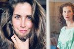 Z krásky Rumcajsem? Hvězda Vyprávěj Bernášková nosí vousy!