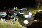 Čtyři mrtví po nehodě na Znojemsku: Umírali mi v náručí! Promluvil muž, který zachraňoval Kryštůfka (4 měs.)