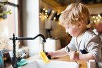 Kuchyňské houbičky jsou líhní bakterií. Měly by se vyhodit nejvýše po pár dnech, jinak dětem do ruky snad ani nepatří.