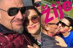Zamilovaná Bočanová (52) už lásku netají: Vášnivá líbačka s milencem!