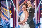 Veronika Khek Kubařová a Dominik Vodička na druhém tanečním večeru StarDance
