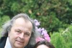 Eva nám zapózovala s manželem, slavným virtuosem Václavem Hudečkem.