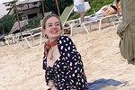 Zpěvačka Adele na posledních fotkách z pláže.