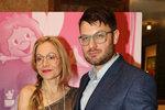 Prvním celovečením filmem Lucii bylo Pirko (na snímku s manželem Petrem)