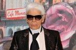 """Karl Lagerfeld, návrhář  """"Móda má z člověka udělat to, kým se sám neodváží být."""""""