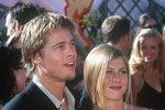 Brad a Jennifer v roce 2000