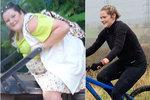 Pětadvacetiletá Steph Stykes z Británie odjakživa trpěla nadváhou, ale po smrti svého otce se začala nekontrolovatelně přejídat. Za dva roky její váha vystoupala až ke sto šedesáti kilogramům. Pohled zoufalé matky ji ale nakonec přinutil učinit rozhodnutí, díky kterému zhubla úžasných devětaosmdesát kilo! Steph si pro završení své proměny vzala půjčku na osmnáct tisíc liber, kterou použila na chirurgické odstranění přebytečné kůže a zvětšení prsou.