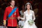 Průlomem byly i královské svatby, Katina v roce 2011...