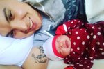 Antonella se svou maminkou.