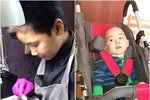Třináctiletý chlapec vydělává na léčbu nemocného bratra ve vlastním nehtovém studiu