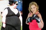 Osmadvacetiletá žena zhubla během pouhých tří let 110 kilogramů!