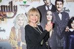 Jana Švandová na obnovené premiéře muzikálu The Addams Family.