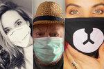 Rouška není hanba! Rytmus i Pazderková propagují ochranu před koronavirem