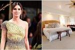 Takhle spí Sandra Bullock! Nahlédněte do její ložnice