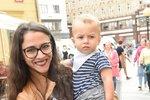 Eva Burešová se synem