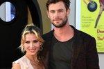 Chris Hemsworth a Elsa Pataky jsou jedni z nezářících párů. Poznali se díky práci a vzali se před deseti lety.