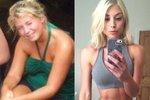 Fitness influencerka Sophie Aris bývala před více než šesti lety baculatou Britkou.