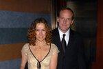 Jennifer Grey se svým manželem Clarkem Greggem