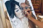 Ve španělské Marbelle se Tereza vrátila ke svému koníčku, malování.