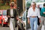 Ležérní outfity princezny Diany: I po 35 letech jsou aktuální a trendy, říká česká návrhářka