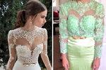 Tyhle šaty si asi na svatbu nevezme...