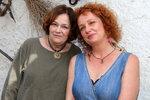 Herečka Jitka Smutná s dcerou, zpěvačkou Terezou Nekudovou