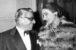 Operní diva Maria Callas měla milostnou aféru s miliardářem Aristotelem Onassisem.