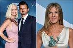 Katy Perry si zvolila za kmotru své dcery Jennifer Aniston