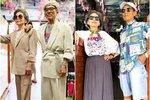 80letí majitelé prádelny jsou hitem internetu! Jejich outfity z oblečení, které si nikdo nevyzvedl, vás dostanou