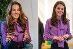 O vévodkyni Kate je všeobecně známo, že ráda nosí dostupnou módu zobchodních řetězců, nebojí se leckdy ani levné bižuterie, a když už investuje do drahých modelů ikonických značek či od návrhářů, netají se jejich recyklací!