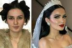 Jsou to vůbec ty stejné ženy? Podívejte se, jak se nevěsty díky vizážistovi proměnily