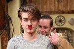 Marku Lamborovi už tekla umělá krev z nosu...