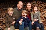 Vévoda a vévodkyně z Cambridge se svými dětmi
