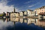 Curych: Jezero Zürichsee a řeka Limmat