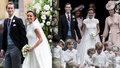 Pippa si díky zámožnosti své rodiny a svého manžela mohla dovolit skutečně královskou svatbu.