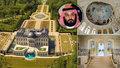 Freska jako ze Sixtinské kaple, vlastní kino i divadlo: Saúdský princ koupil nejdražší sídlo světa! Zámek po Ludvíku XIV. koupil za 6,5 miliard